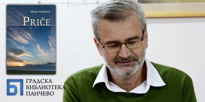 """Промоција збирке приповедака """"Приче"""" Милана Мађарева"""