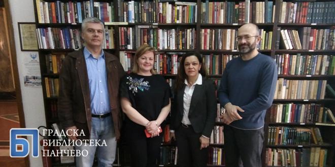 Руски кутак у Градској библиотеци Панчево